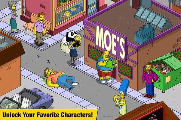 Simpsons Character Unlock